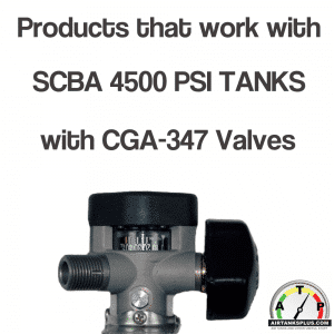 Products for SCBA 4500 PSI Tanks