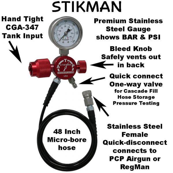 Stikman PCP Airgun Fill System