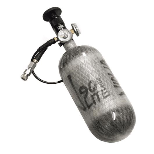 Ninja Slow Fill 4500PSI 90CI Carbon Fiber Tank w/EZ Valve