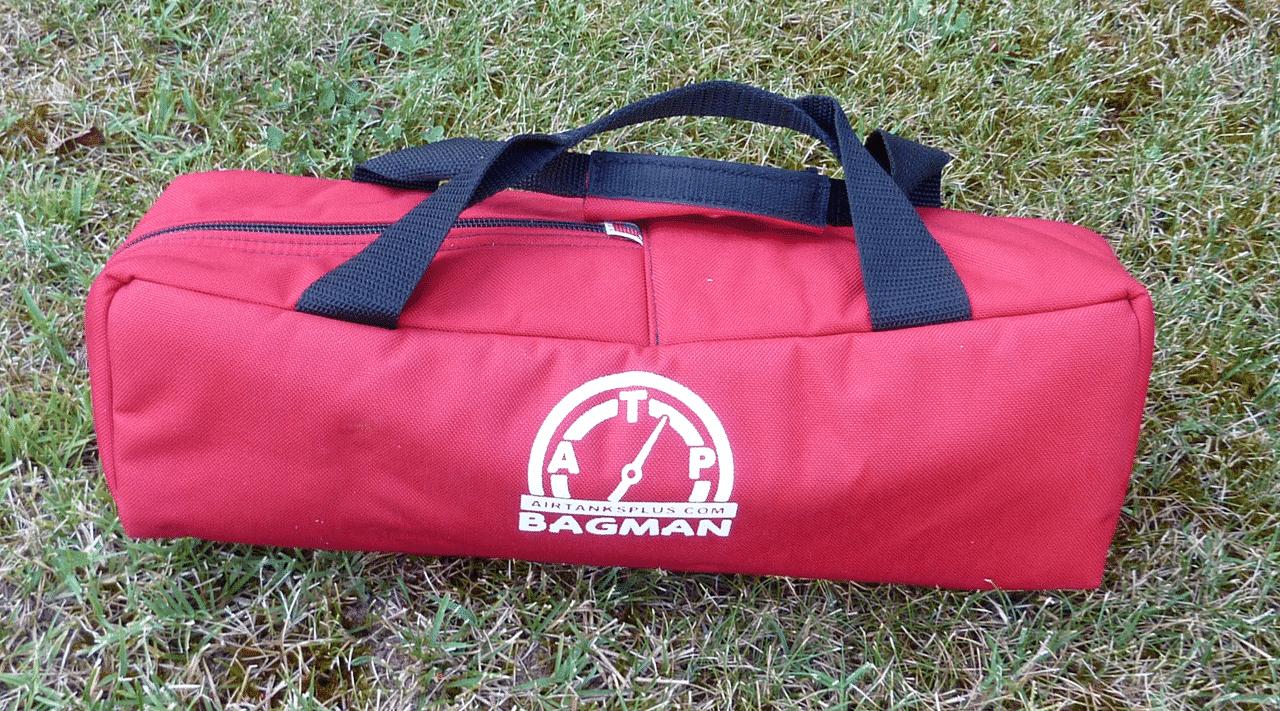 Bagman Mini tank bag for paintball and HPS bottles