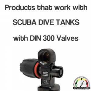 DIN 300 Scuba Tanks