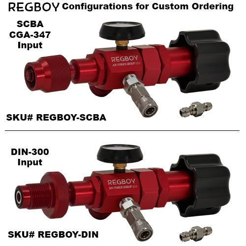 RegBoy Ordering Configurations