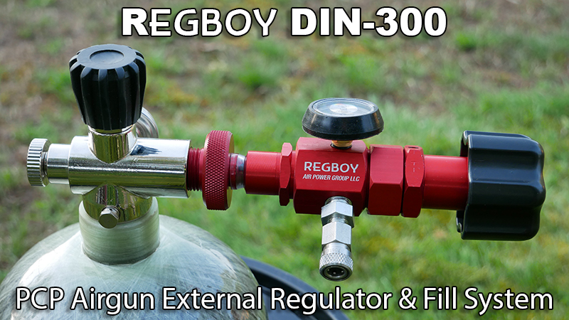 RegBoy Mounted on a DIN-300 Tank