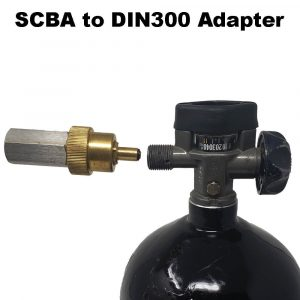 SCBA CGA-347 to DIN 300